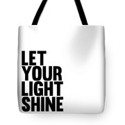 Let Your Light Shine Poster 1 Tote Bag