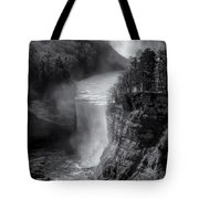 Letchworth In Winter Tote Bag