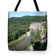 Letchworth State Park Genesee River I Tote Bag