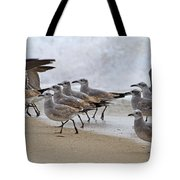 Let's Blow This Joint Tote Bag by Betsy Knapp