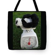 Let's Check My Weight Now Tote Bag