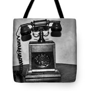 Lets Communicate Tote Bag