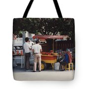 Lets Do Lunch Mexico Series By Tom Ray Tote Bag