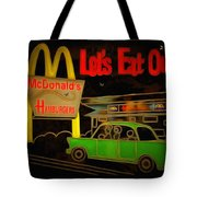Let's Eat Out Tote Bag