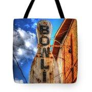 Bowling Pastime Tote Bag