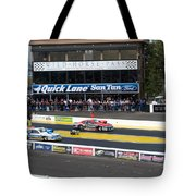 Let's Go Racing Tote Bag