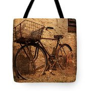 Let's Go Ride A Bike Tote Bag
