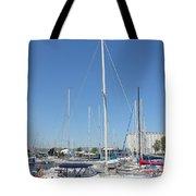 Sailboat Series 02 Tote Bag
