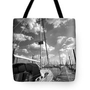 Let's Go Sailing Tote Bag