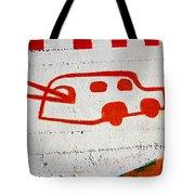 Let's Go Surfing Tote Bag by Chiara Corsaro