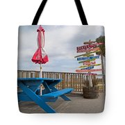Let's Have A Picnic Jekyll Island Tote Bag