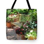 Let's Meet Here Tote Bag