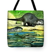 Lets Play And Swim Tote Bag