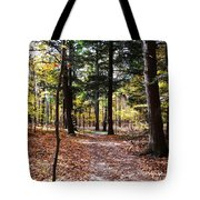 Let's Take A Walk In The Woods Tote Bag
