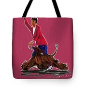 Lets Tango In Red Tote Bag