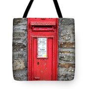 Victorian Red Letter Box Tote Bag