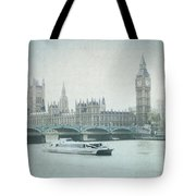 Letters From The Thames - London Tote Bag