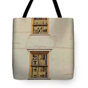 Letters Reflected Tote Bag
