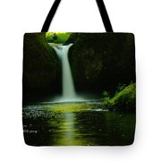 Letting The Calm Tote Bag