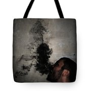Letting The Darkness Out Tote Bag