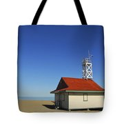 Leuty Lifeguard Station In Toronto Tote Bag