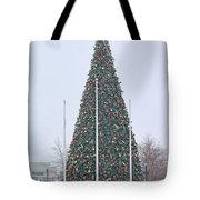 Levis Commons Christmas Tree Tote Bag by Jack Schultz