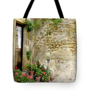 Levroux France Entrance Tote Bag