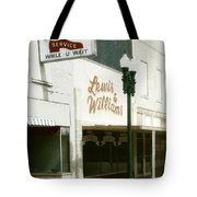 Lewis And Williams Tote Bag