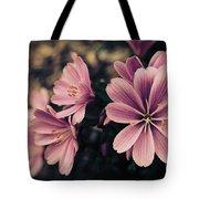 Lewisia Flowers - 7 Tote Bag
