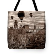 Lewiston Maine Hot Air Balloons Tote Bag