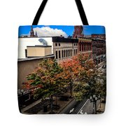 Lewiston Maine In Fall Tote Bag