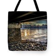 Lewiston Under The Bridge Tote Bag