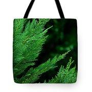 Leyland Cypress Green Tote Bag