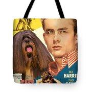 Lhasa Apso Art - East Of Eden Movie Poster Tote Bag