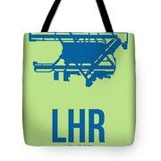 Lhr London Airport Poster 2 Tote Bag