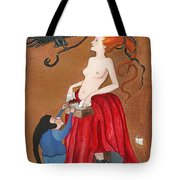 Liberation From The Past Tote Bag