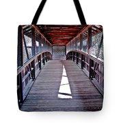 Liberty Bridge Swan Lake Tote Bag