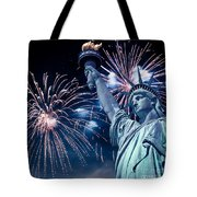 Liberty Fireworks Tote Bag