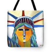 Liberty In Colors Tote Bag