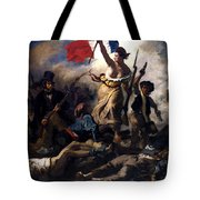 Liberty Leading The People During The French Revolution Tote Bag