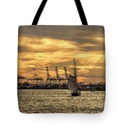 Liberty Sailing  Tote Bag