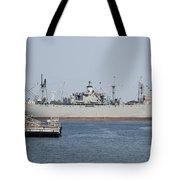 Liberty Ship Ss John W. Brown Tote Bag