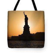 Liberty Sunset Tote Bag