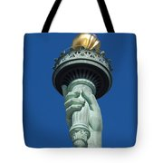 Liberty Torch Tote Bag by Brian Jannsen