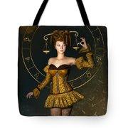 Libra Zodiac Sign Tote Bag