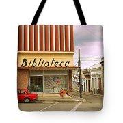 Library Corner Tote Bag