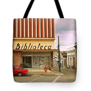 Library Corner Tote Bag