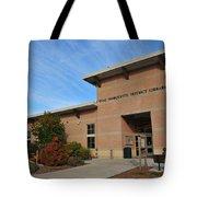 Library In Clare Michigan Tote Bag