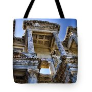 Library Of Celsus Tote Bag by David Smith