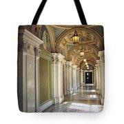Library Of Congress Hallway Washington Dc Tote Bag